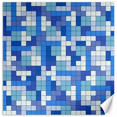 Tetris Camouflage Marine Canvas 20  X 20   by jumpercat