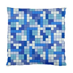 Tetris Camouflage Marine Standard Cushion Case (two Sides) by jumpercat