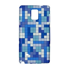 Tetris Camouflage Marine Samsung Galaxy Note 4 Hardshell Case by jumpercat