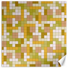 Tetris Camouflage Desert Canvas 20  X 20   by jumpercat