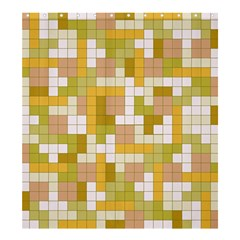 Tetris Camouflage Desert Shower Curtain 66  X 72  (large)  by jumpercat