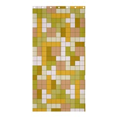 Tetris Camouflage Desert Shower Curtain 36  X 72  (stall)  by jumpercat