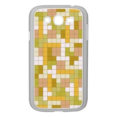 Tetris Camouflage Desert Samsung Galaxy Grand Duos I9082 Case (white) by jumpercat