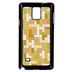 Tetris Camouflage Desert Samsung Galaxy Note 4 Case (black) by jumpercat