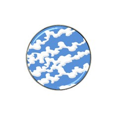 Cloud Lines Hat Clip Ball Marker (4 Pack) by jumpercat