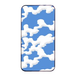 Cloud Lines Apple Iphone 4/4s Seamless Case (black) by jumpercat