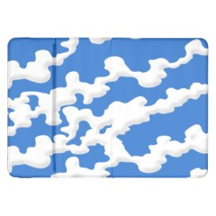 Cloud Lines Samsung Galaxy Tab 8 9  P7300 Flip Case by jumpercat
