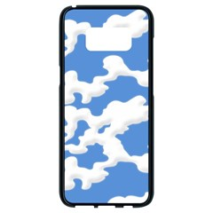 Cloud Lines Samsung Galaxy S8 Black Seamless Case