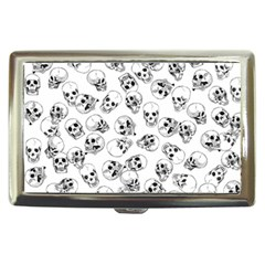 A Lot Of Skulls White Cigarette Money Cases by jumpercat