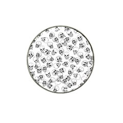 A Lot Of Skulls White Hat Clip Ball Marker (10 Pack) by jumpercat