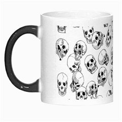 A Lot Of Skulls White Morph Mugs by jumpercat