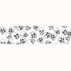 A Lot Of Skulls White Large Bar Mats by jumpercat