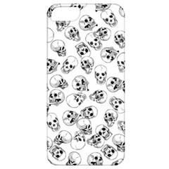 A Lot Of Skulls White Apple Iphone 5 Classic Hardshell Case by jumpercat