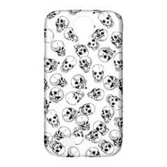 A Lot Of Skulls White Samsung Galaxy S4 Classic Hardshell Case (pc+silicone) by jumpercat