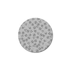 A Lot Of Skulls Grey Golf Ball Marker (10 Pack) by jumpercat