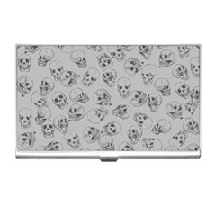 A Lot Of Skulls Grey Business Card Holders by jumpercat