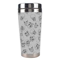 A Lot Of Skulls Grey Stainless Steel Travel Tumblers by jumpercat