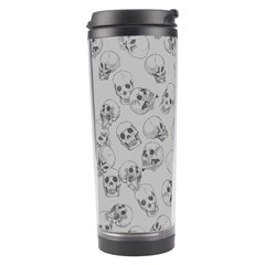 A Lot Of Skulls Grey Travel Tumbler by jumpercat