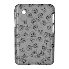 A Lot Of Skulls Grey Samsung Galaxy Tab 2 (7 ) P3100 Hardshell Case  by jumpercat
