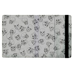 A Lot Of Skulls Grey Apple Ipad Pro 9 7   Flip Case by jumpercat