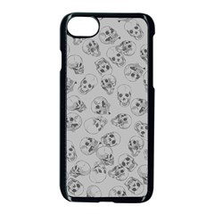 A Lot Of Skulls Grey Apple Iphone 7 Seamless Case (black)