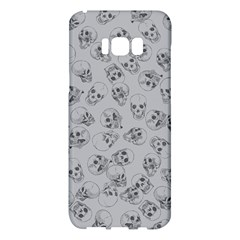A Lot Of Skulls Grey Samsung Galaxy S8 Plus Hardshell Case  by jumpercat