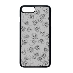 A Lot Of Skulls Grey Apple Iphone 8 Plus Seamless Case (black) by jumpercat