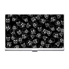 A Lot Of Skulls Black Business Card Holders by jumpercat