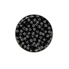 A Lot Of Skulls Black Hat Clip Ball Marker (10 Pack) by jumpercat