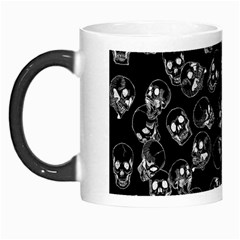A Lot Of Skulls Black Morph Mugs by jumpercat