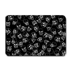 A Lot Of Skulls Black Small Doormat