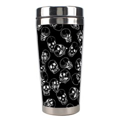 A Lot Of Skulls Black Stainless Steel Travel Tumblers by jumpercat