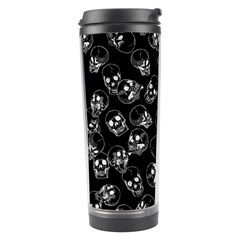 A Lot Of Skulls Black Travel Tumbler