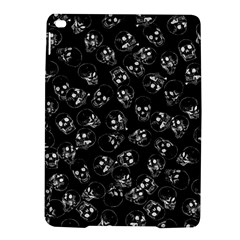 A Lot Of Skulls Black Ipad Air 2 Hardshell Cases by jumpercat