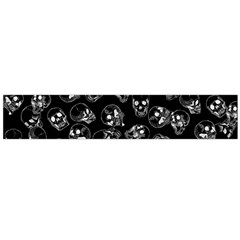 A Lot Of Skulls Black Large Flano Scarf  by jumpercat
