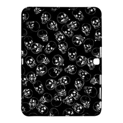 A Lot Of Skulls Black Samsung Galaxy Tab 4 (10 1 ) Hardshell Case  by jumpercat