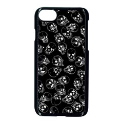 A Lot Of Skulls Black Apple Iphone 7 Seamless Case (black)