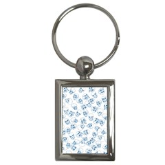A Lot Of Skulls Blue Key Chains (rectangle)  by jumpercat