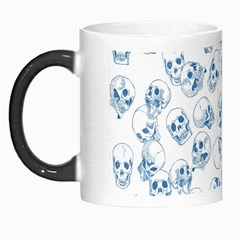 A Lot Of Skulls Blue Morph Mugs by jumpercat