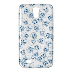 A Lot Of Skulls Blue Samsung Galaxy Mega 6 3  I9200 Hardshell Case by jumpercat