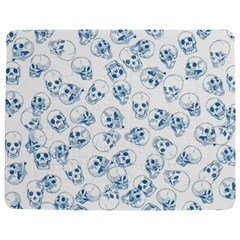 A Lot Of Skulls Blue Jigsaw Puzzle Photo Stand (rectangular) by jumpercat