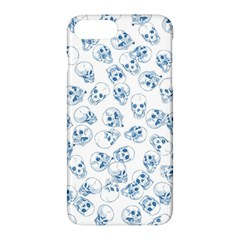 A Lot Of Skulls Blue Apple Iphone 7 Plus Hardshell Case by jumpercat