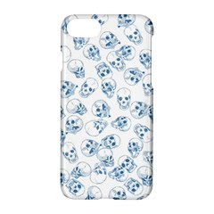 A Lot Of Skulls Blue Apple Iphone 7 Hardshell Case by jumpercat