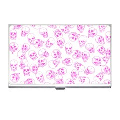 A Lot Of Skulls Pink Business Card Holders by jumpercat