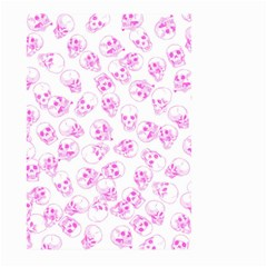A Lot Of Skulls Pink Large Garden Flag (two Sides) by jumpercat