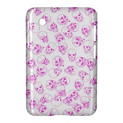 A Lot Of Skulls Pink Samsung Galaxy Tab 2 (7 ) P3100 Hardshell Case  by jumpercat