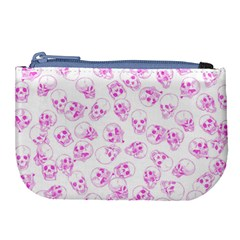 A Lot Of Skulls Pink Large Coin Purse by jumpercat