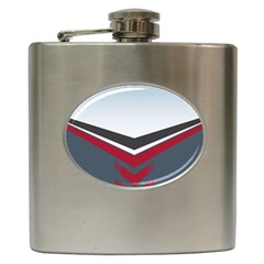 Modern Shapes Hip Flask (6 Oz) by jumpercat