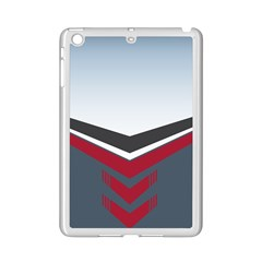 Modern Shapes Ipad Mini 2 Enamel Coated Cases by jumpercat