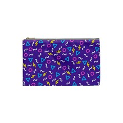 Retro Wave 1 Cosmetic Bag (small)